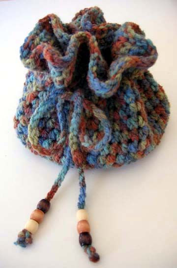 Crochet Drawstring Bag Awesome Drawstring Crochet Bag Free Pattern Great for Wrapping Up Of Superb 46 Images Crochet Drawstring Bag