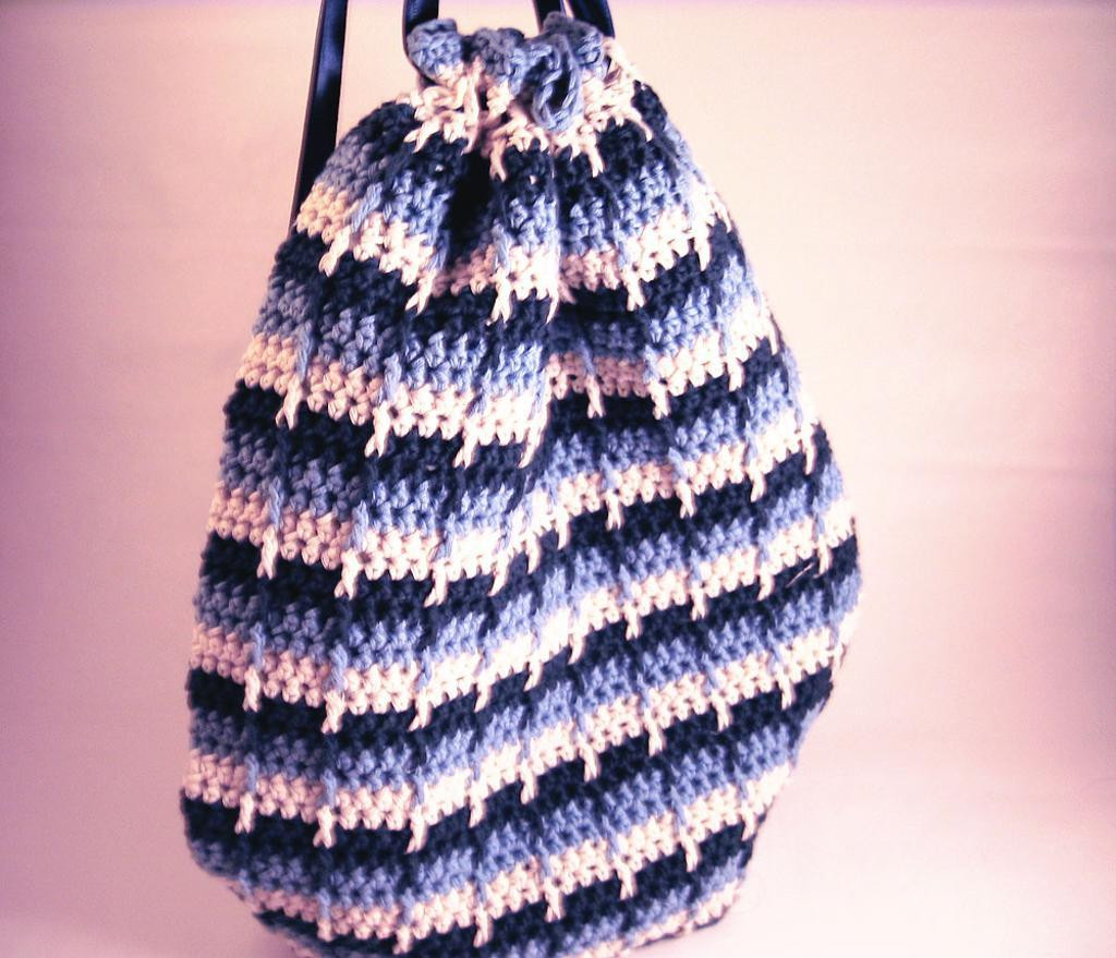 Crochet Drawstring Bag Inspirational Ready for Ridges Try the Front Post Double Crochet Of Superb 46 Images Crochet Drawstring Bag