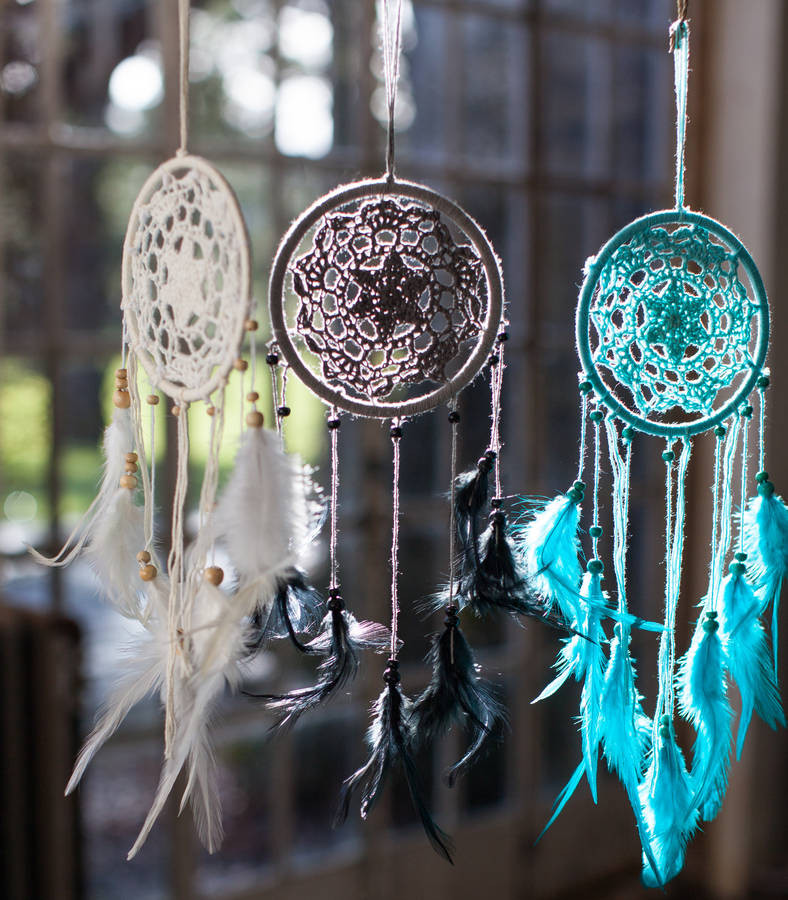 Crochet Dream Catchers Inspirational Personalised Crochet Dream Catcher by the forest & Co Of Attractive 33 Pics Crochet Dream Catchers