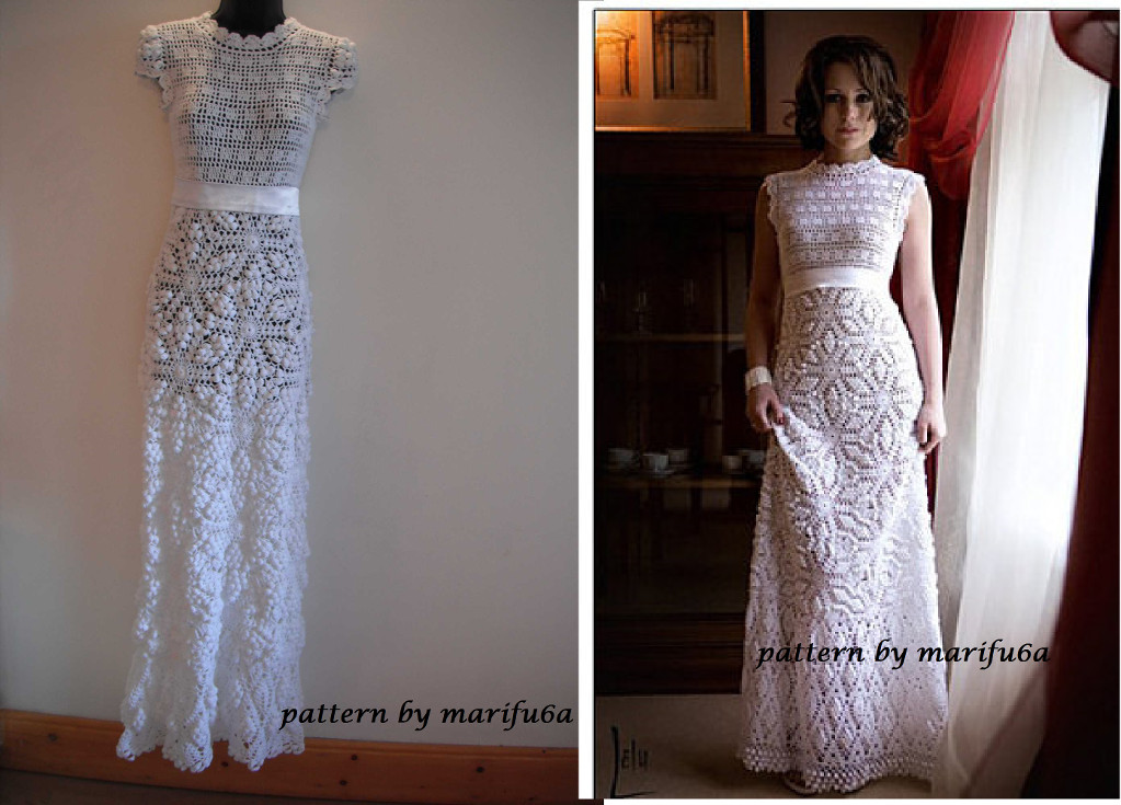 Crochet Dresses Elegant Crochet Wedding Dress Patterns and Wedding Accessories to Of Top 49 Pictures Crochet Dresses