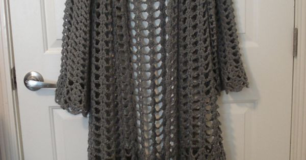 Ravelry Project Gallery for Lacy Duster pattern by Doris