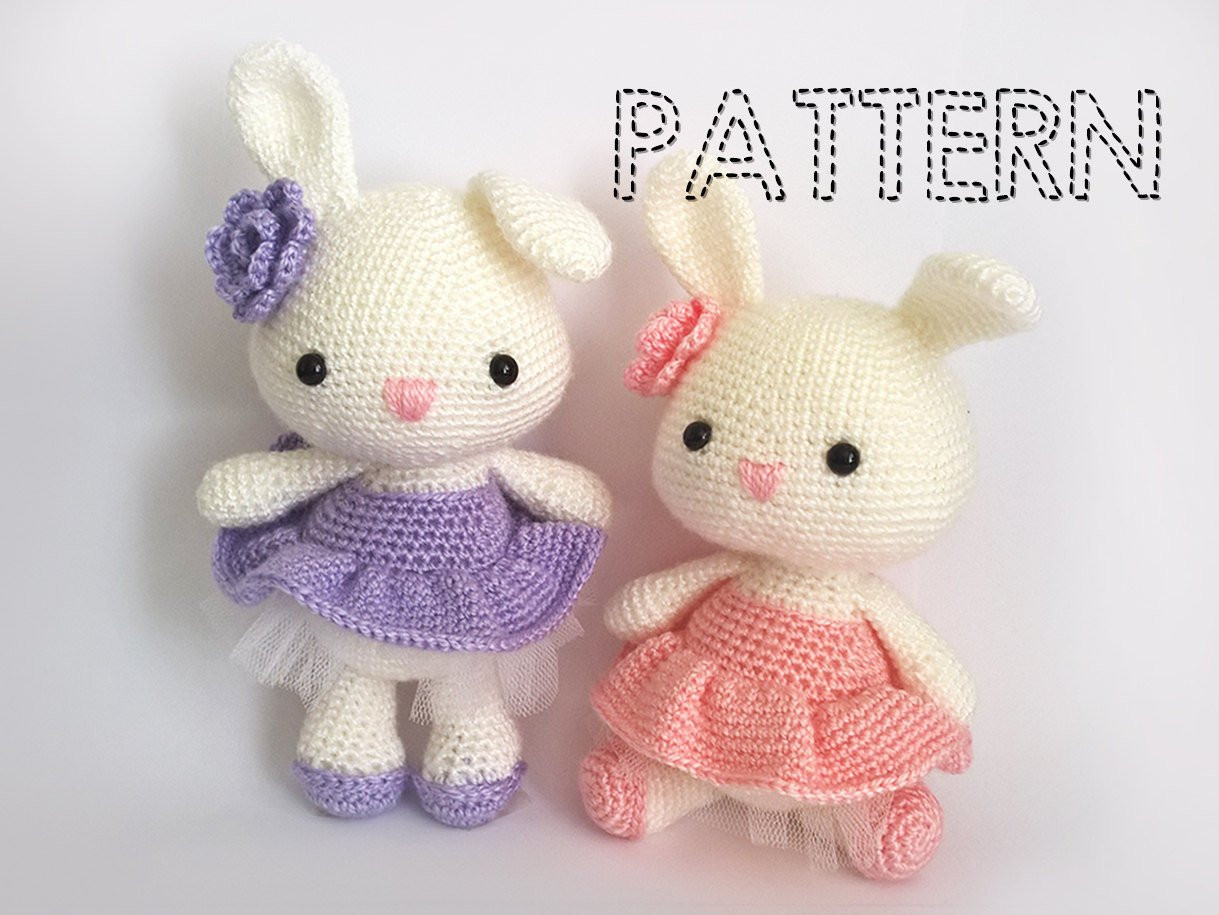 Crochet Easter Bunny Awesome Easter Bunny In Dress Crochet Patterns Ballerina Doll Of Gorgeous 42 Photos Crochet Easter Bunny