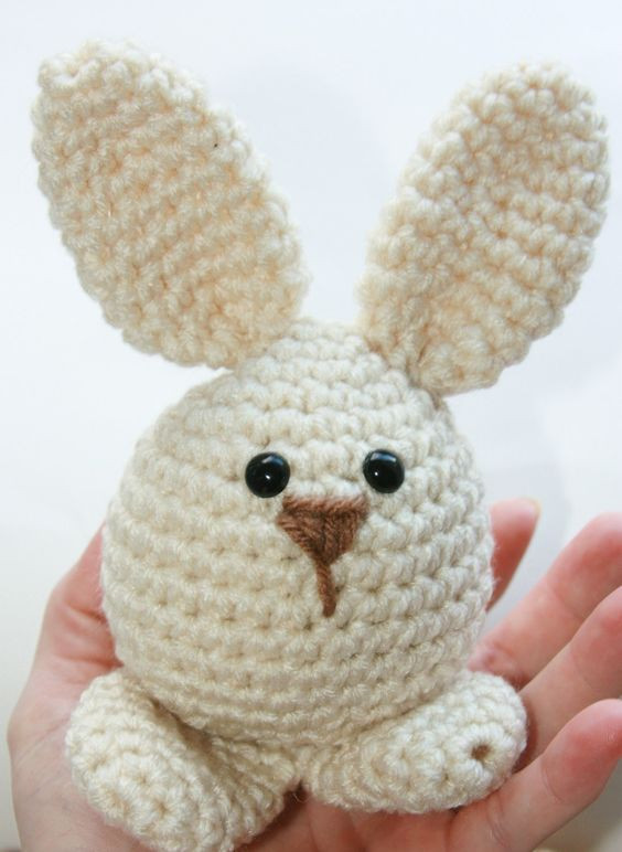 "Crochet Easter Bunny Fresh ""easter Bunny toy Babies First soft Crochet Amigurumi Of Gorgeous 42 Photos Crochet Easter Bunny"
