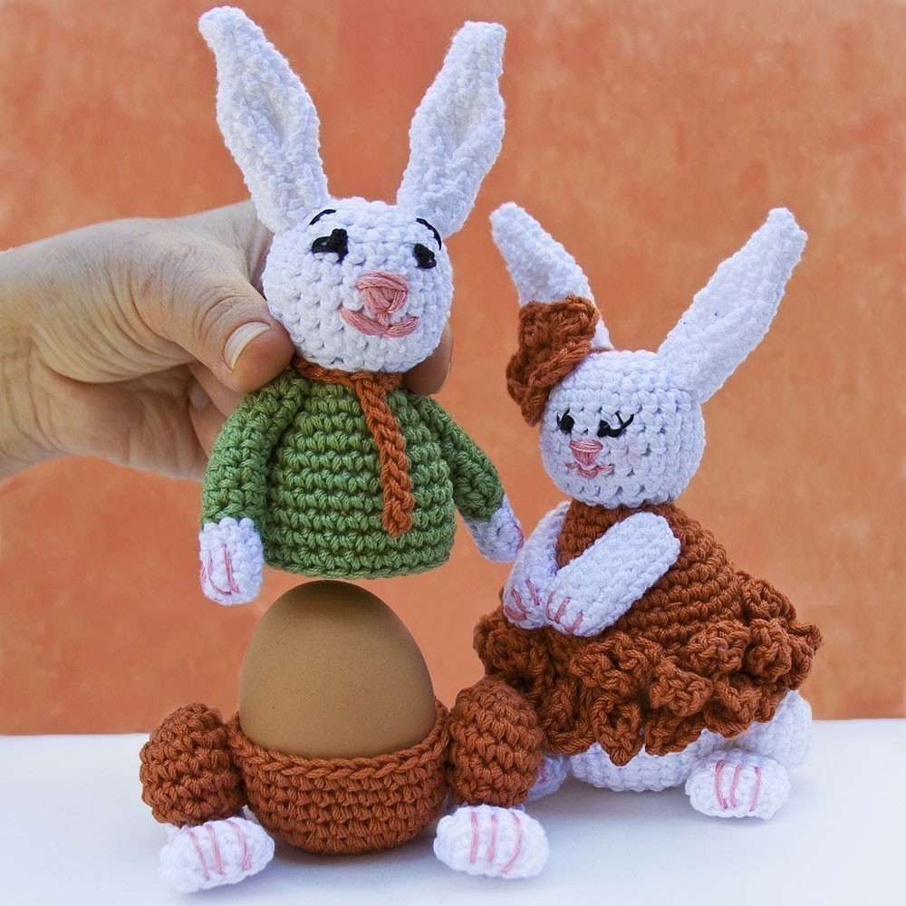 Crochet Easter Bunny Lovely 16 Adorable Handmade Easter Egg Cozies Style Motivation Of Gorgeous 42 Photos Crochet Easter Bunny