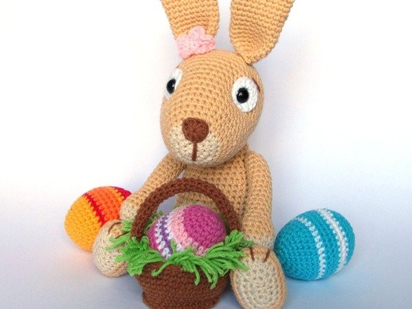 Crochet Easter Bunny Pattern Fresh Easter Bunny with Easter Eggs Crochet Pattern Of Amazing 42 Photos Crochet Easter Bunny Pattern