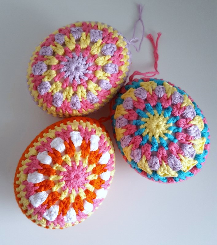 Crochet Easter Eggs Beautiful Dinki Dots Craft Multi Coloured Crochet Easter Eggs Of Incredible 43 Ideas Crochet Easter Eggs