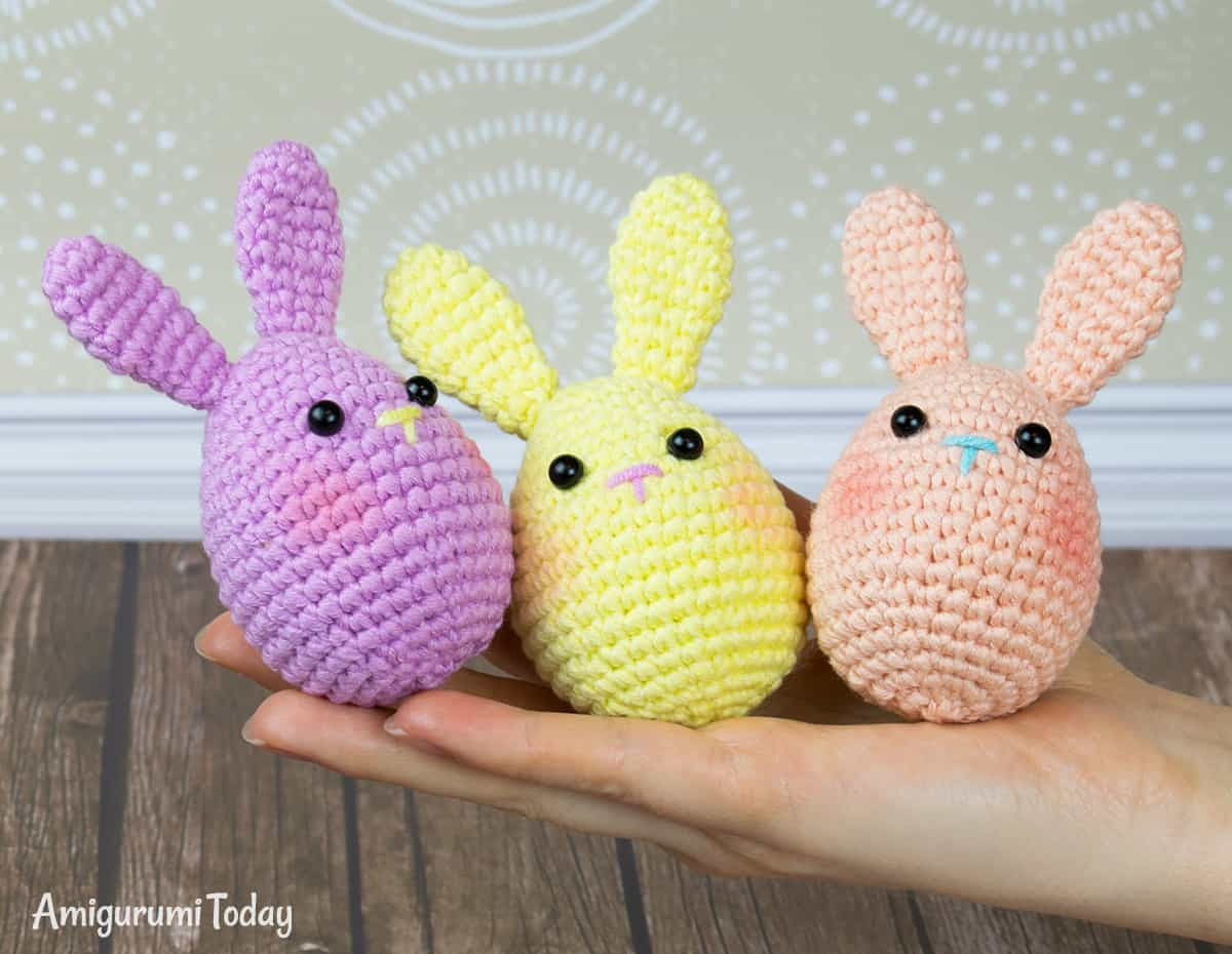 Crochet Easter Eggs Best Of Easter Bunny Egg Crochet Pattern Amigurumi today Of Incredible 43 Ideas Crochet Easter Eggs