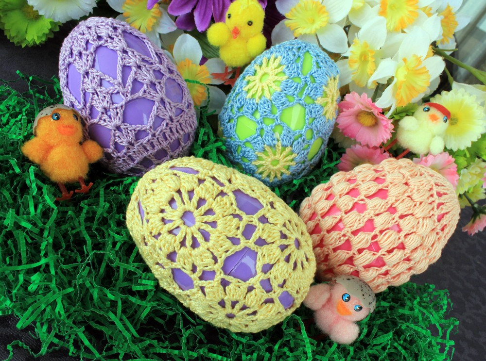 Crochet Easter Eggs Set 2