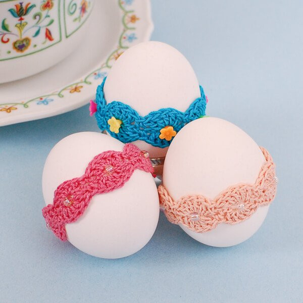 Crochet Easter Eggs Inspirational Crochet Easter Pattern Lace Wrap Egg Decor Of Incredible 43 Ideas Crochet Easter Eggs