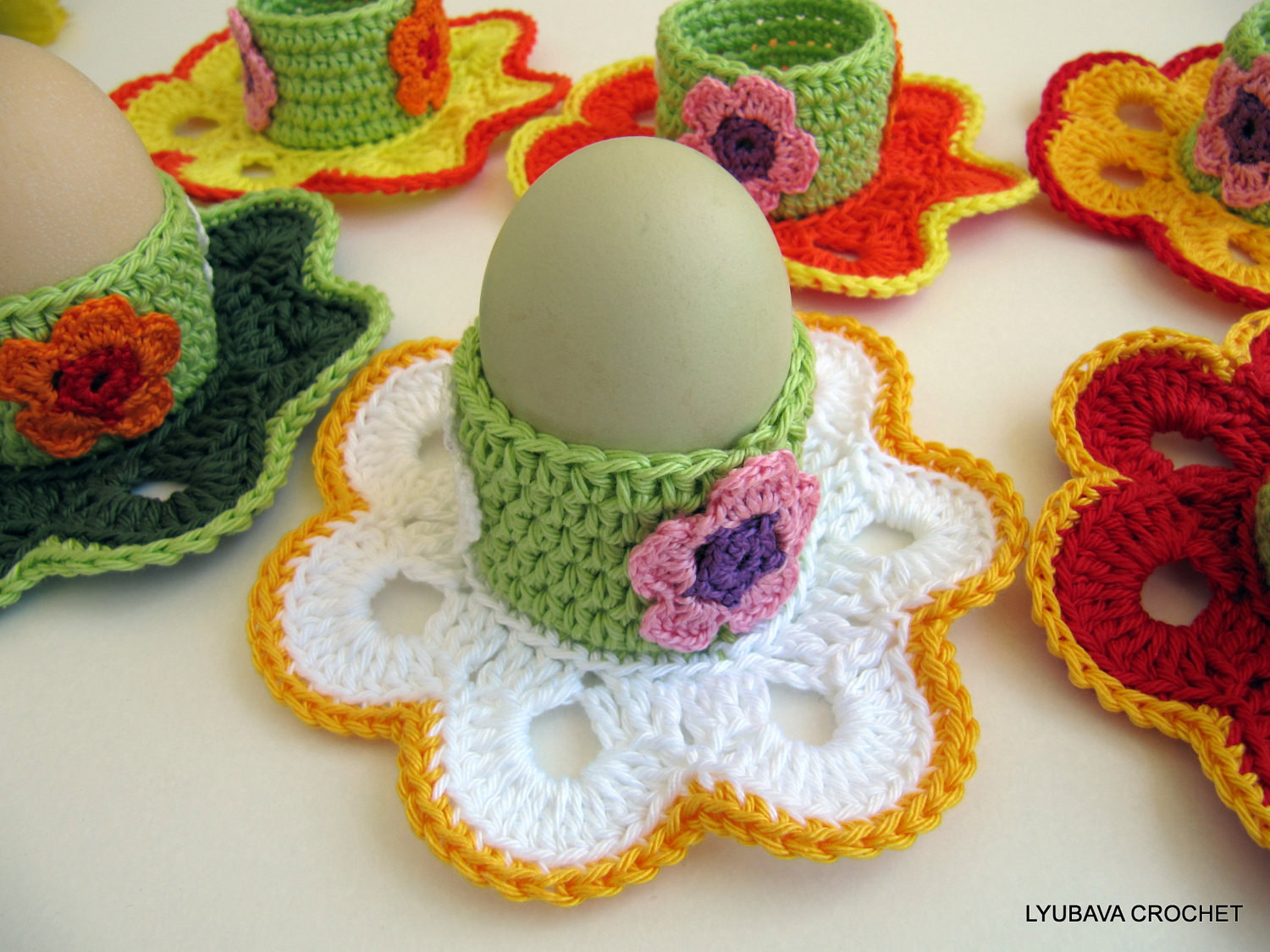 Crochet Easter Eggs Lovely Crochet Pattern Egg Holder Easter Flowers Easter Of Incredible 43 Ideas Crochet Easter Eggs