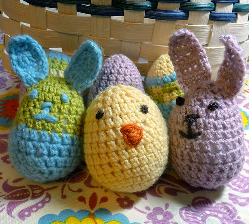 Crochet Easter Eggs – 24 free patterns – Grandmother s
