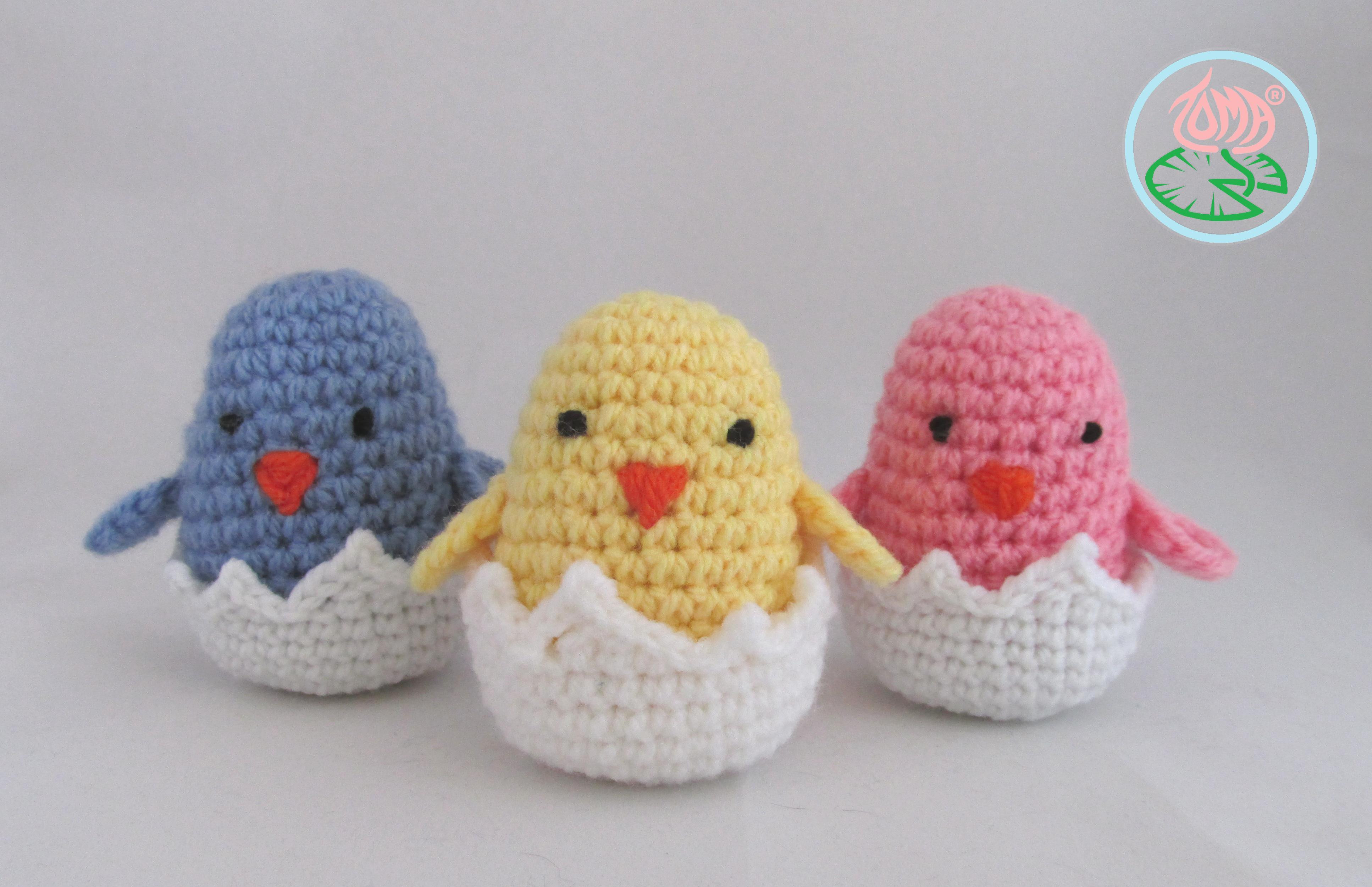 Crochet Easter Patterns Awesome Free Pattern Amigurumi Hatching Easter Chicks Of Charming 45 Pics Crochet Easter Patterns