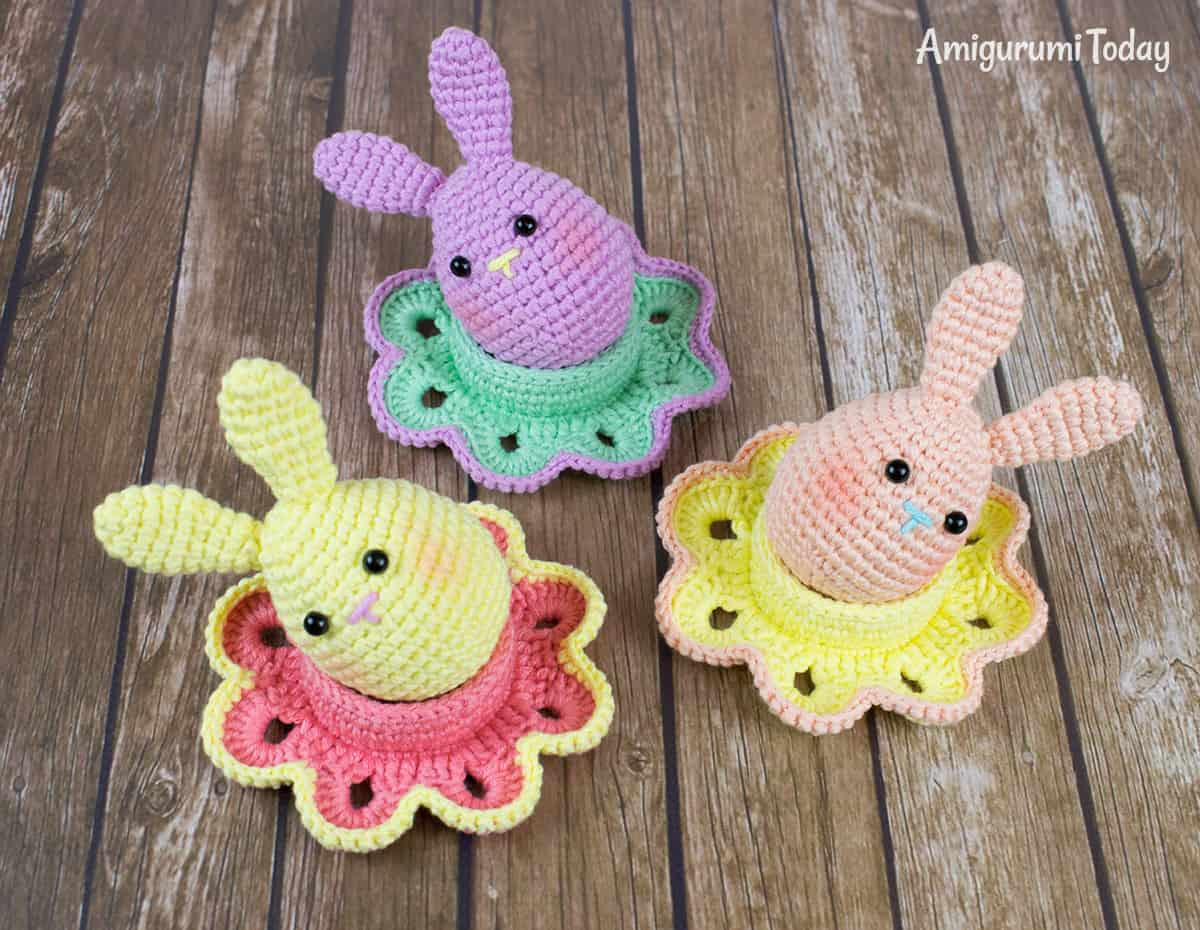 Crochet Easter Patterns Beautiful Easter Bunny Egg Crochet Pattern Amigurumi today Of Charming 45 Pics Crochet Easter Patterns
