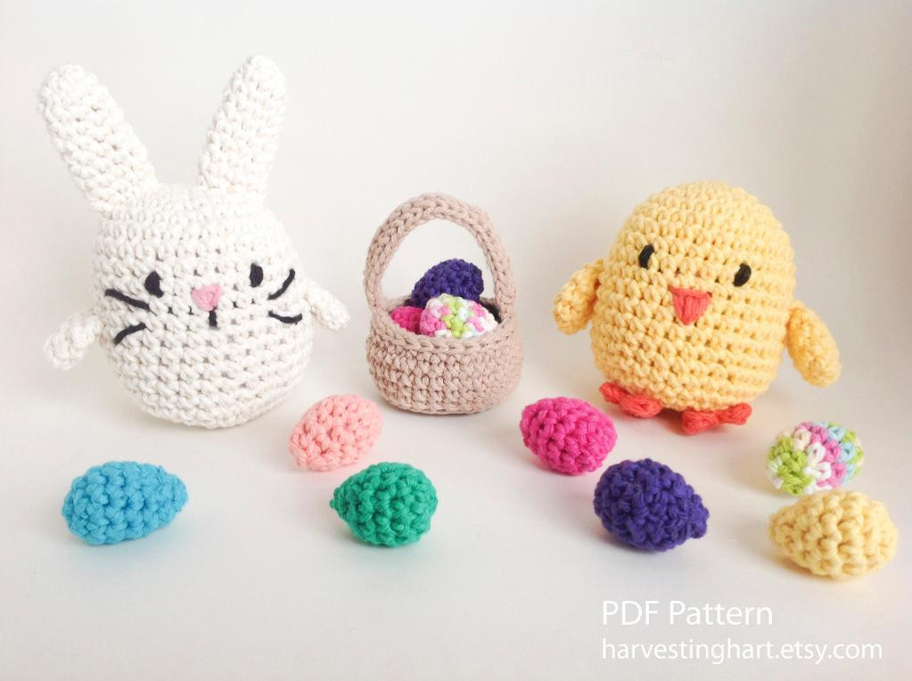 Crochet Easter Patterns Beautiful top 10 Amigurumi Crochet Patterns for Easter On Craftsy Of Charming 45 Pics Crochet Easter Patterns