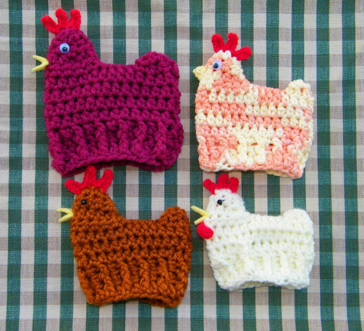 Crochet Easter Patterns Inspirational Delights Gems Crocheted Chicken and Duck Egg Cozies for Of Charming 45 Pics Crochet Easter Patterns