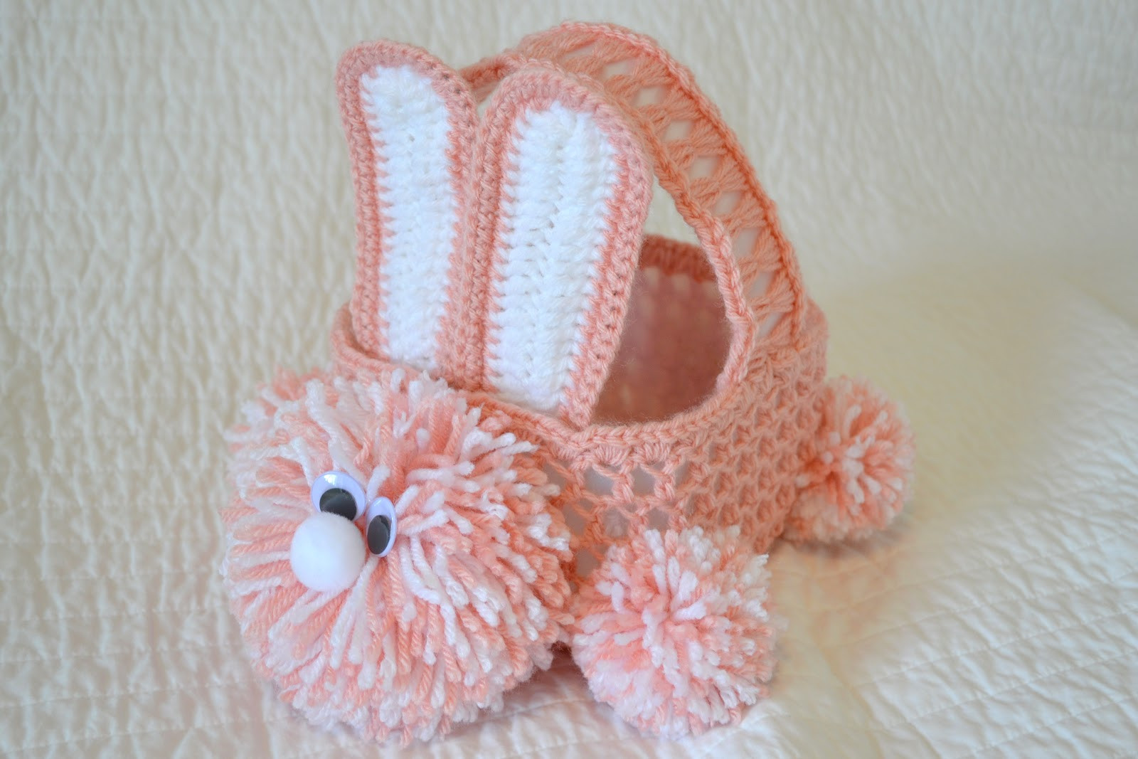 Crochet Easter Patterns Luxury All Things Bright and Beautiful Crochet Easter Bunny Basket Of Charming 45 Pics Crochet Easter Patterns