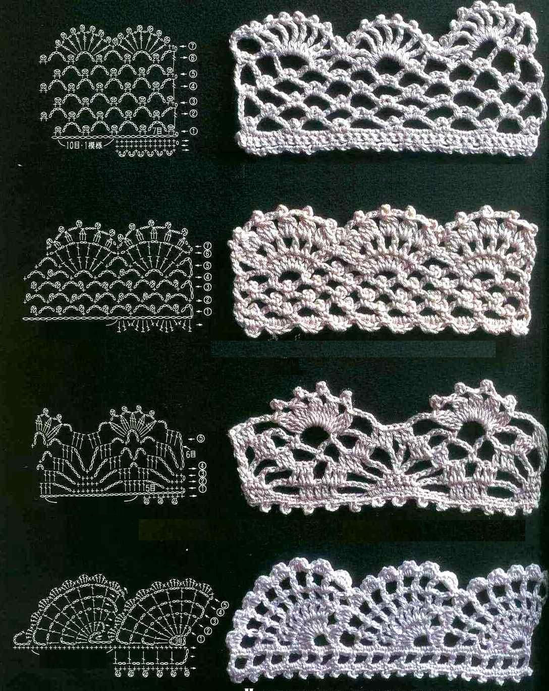 Crochet Edging Awesome Best 25 Crochet Edgings Ideas On Pinterest Of Beautiful 50 Pictures Crochet Edging