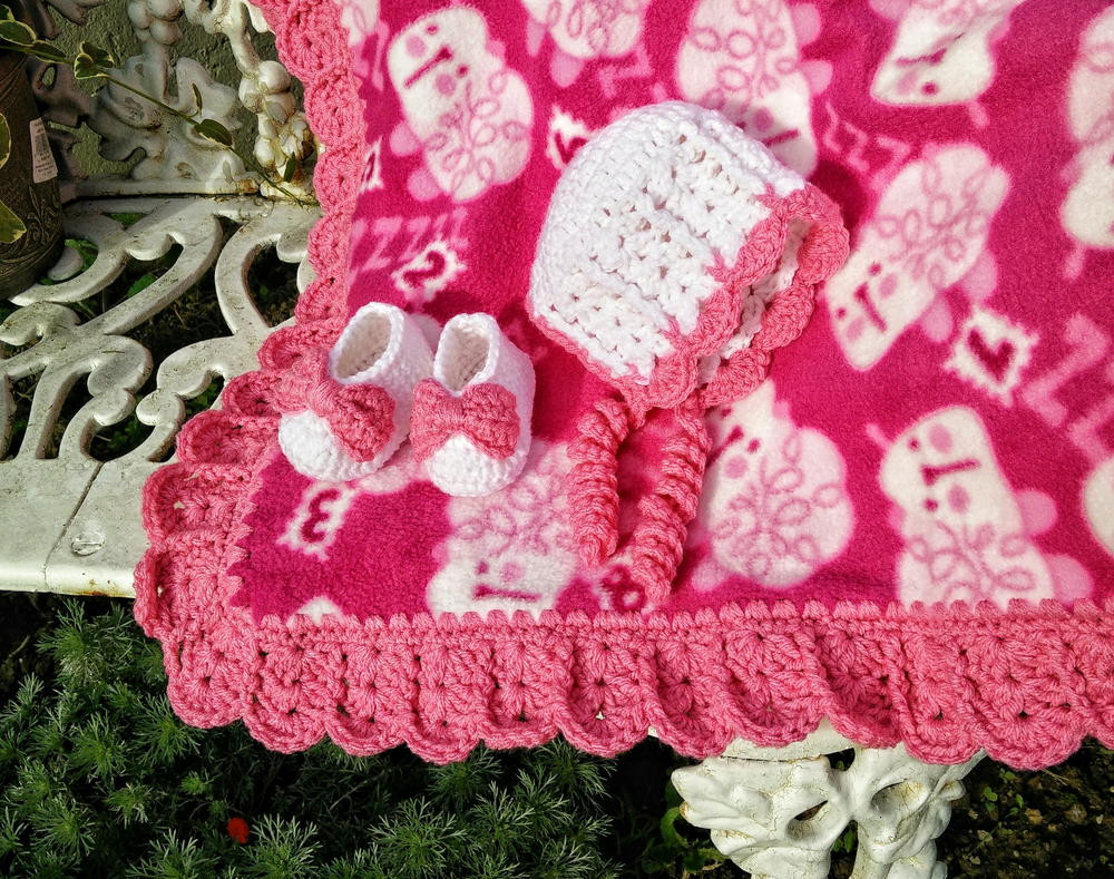 Crochet Edging Awesome Sweet Shells Crochet Edging and Baby Bonnet Of Beautiful 50 Pictures Crochet Edging