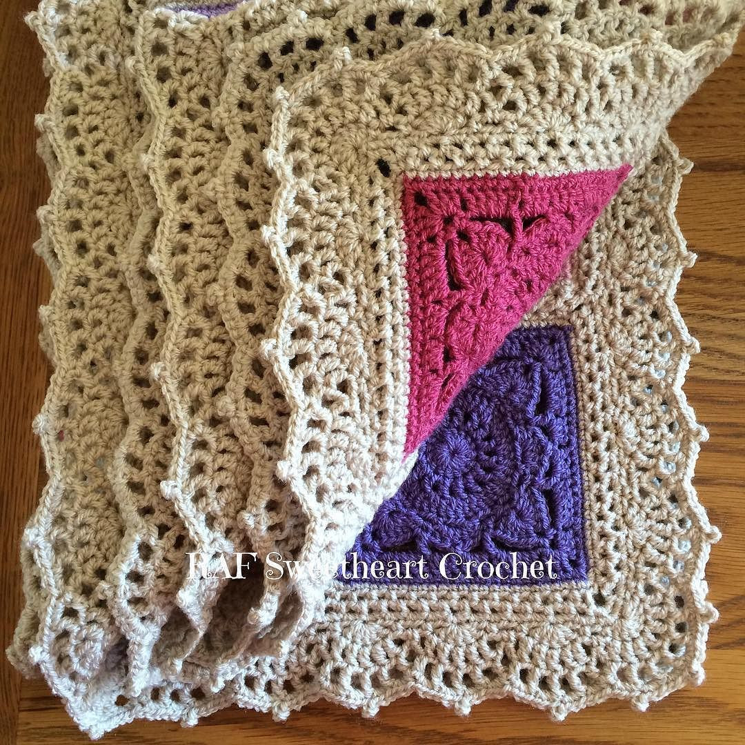 Crochet Edging Luxury Morning Pretties Early Posting for Me Ochet Border Of Beautiful 50 Pictures Crochet Edging