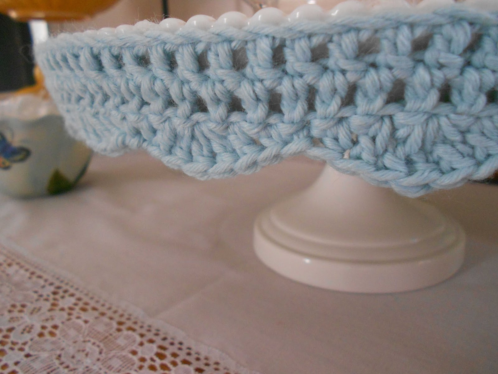 a notion to sew Crochet Edging