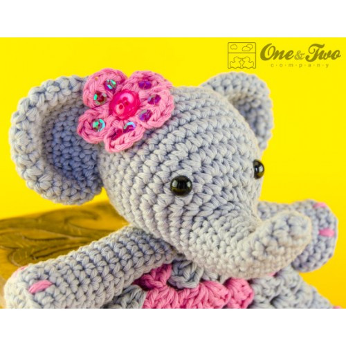Crochet Elephant Awesome Elephant Lovey and Amigurumi Crochet Patterns Pack Of Amazing 49 Models Crochet Elephant