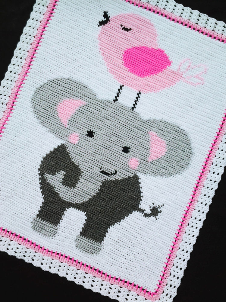 Crochet Elephant Baby Blanket Fresh Crochet Patterns Elephant and Bird Afghan Pattern Of Incredible 45 Ideas Crochet Elephant Baby Blanket