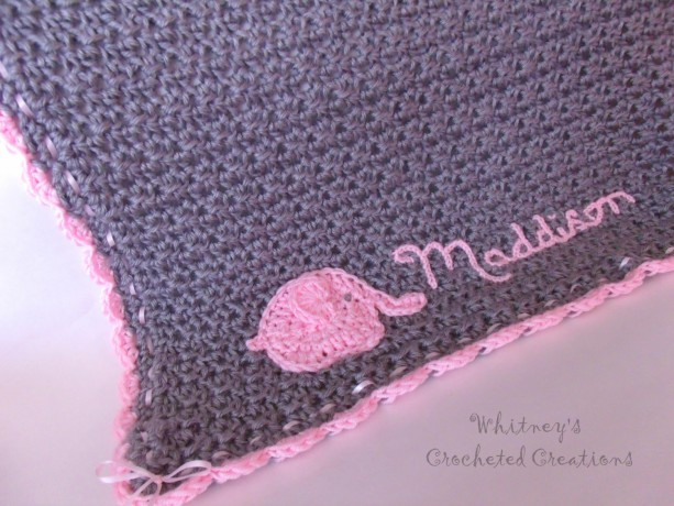 Crochet Elephant Baby Blanket New Crochet Elephant Baby Blanket Infant Afghan Personalized Of Incredible 45 Ideas Crochet Elephant Baby Blanket