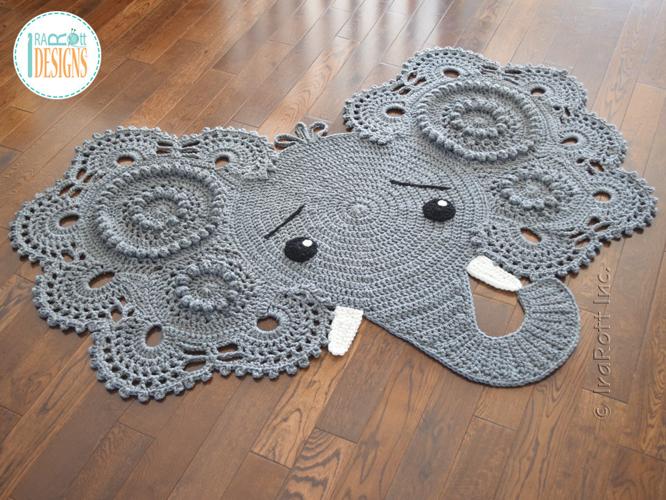Crochet Elephant Beautiful Crochet Elephant Rug Free Pattern Dancox for Of Amazing 49 Models Crochet Elephant