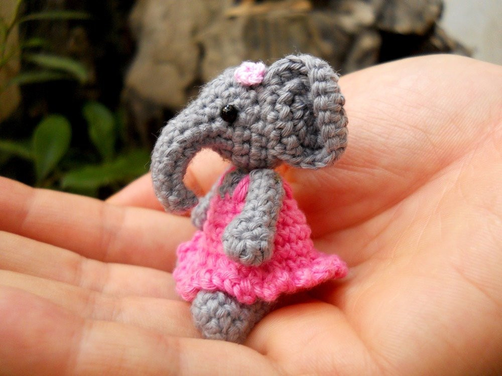 Crochet Elephant Beautiful Cute Mini Elephant Amigurumi Tiny Crochet Elephant Stuffed Of Amazing 49 Models Crochet Elephant
