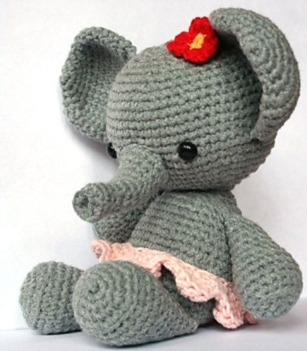 Crochet Elephant Best Of Ravelry Elephant Roosje Pattern by Christel Krukkert Of Amazing 49 Models Crochet Elephant