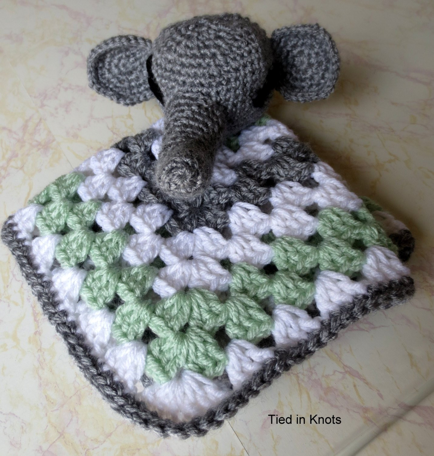 Crochet Elephant Blanket Beautiful Elephant Lovey Blanket Baby Elephant Snuggle Blanket Of Awesome 44 Ideas Crochet Elephant Blanket