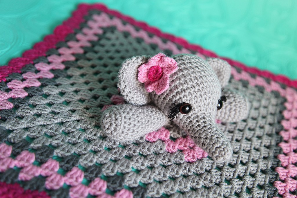 Crochet Elephant Blanket Beautiful Elephant Lovie Security Blanket toy Of Awesome 44 Ideas Crochet Elephant Blanket