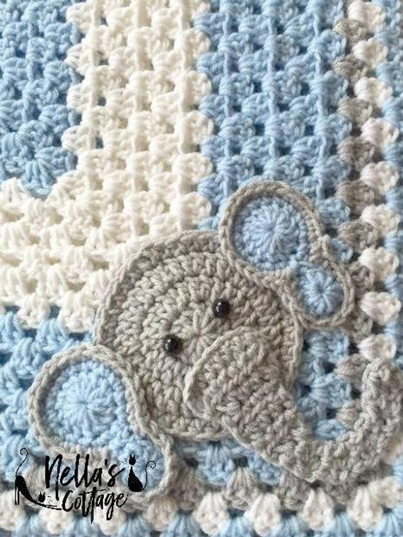 Crochet Elephant Blanket Elegant Crochet Pattern Instant Pdf Download Crochet Pattern Of Awesome 44 Ideas Crochet Elephant Blanket
