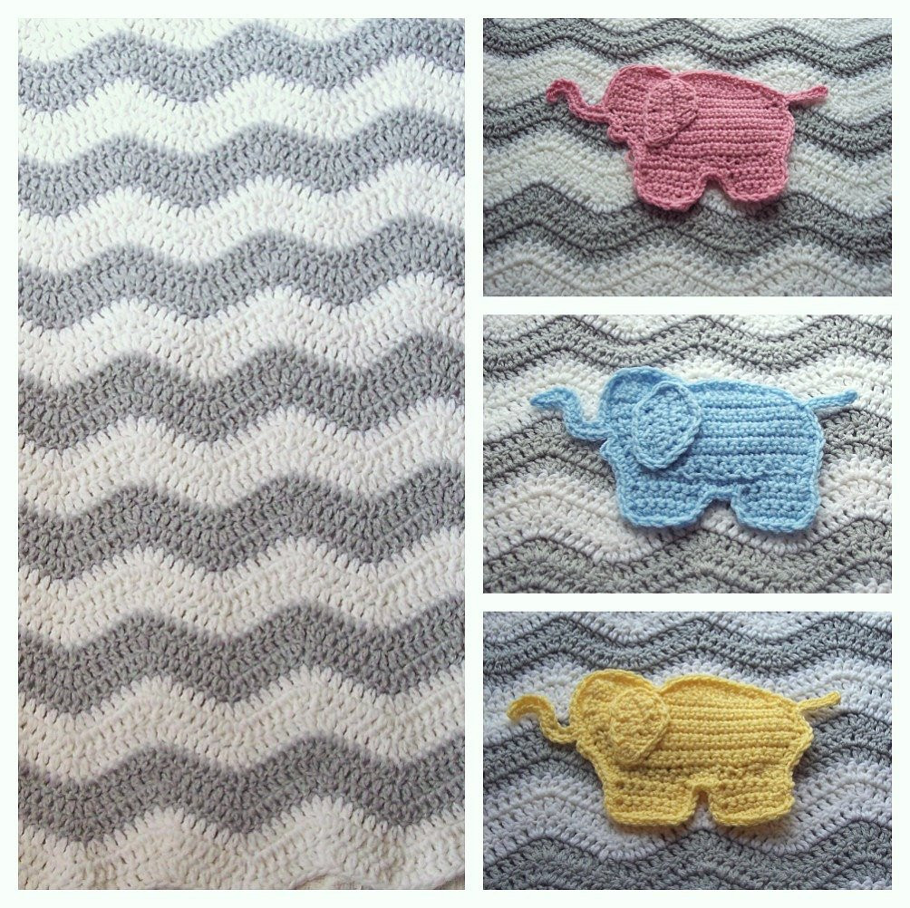 Crochet Elephant Blanket Elegant Elephant Baby Blanket Chevron Elephant Blanket by Puddintoes Of Awesome 44 Ideas Crochet Elephant Blanket