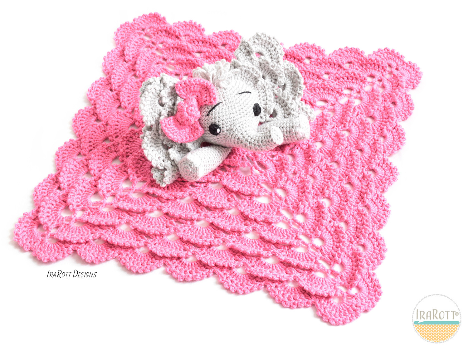 Crochet Elephant Blanket Lovely Josefina and Jeffery Elephant Security Blanket Pdf Crochet Of Awesome 44 Ideas Crochet Elephant Blanket