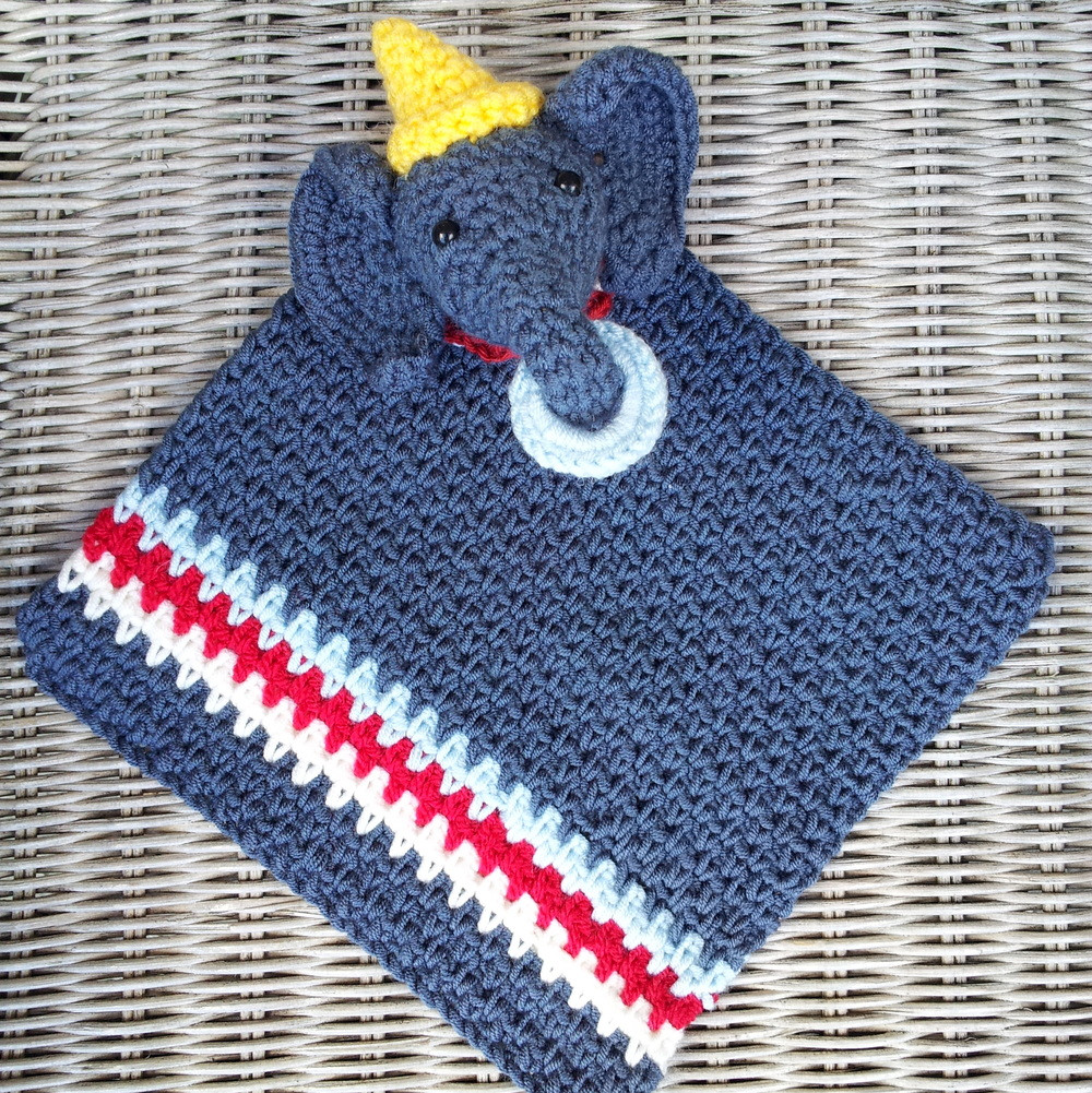 Crochet Elephant Blanket Unique Circus Elephant Crochet Lovey Of Awesome 44 Ideas Crochet Elephant Blanket