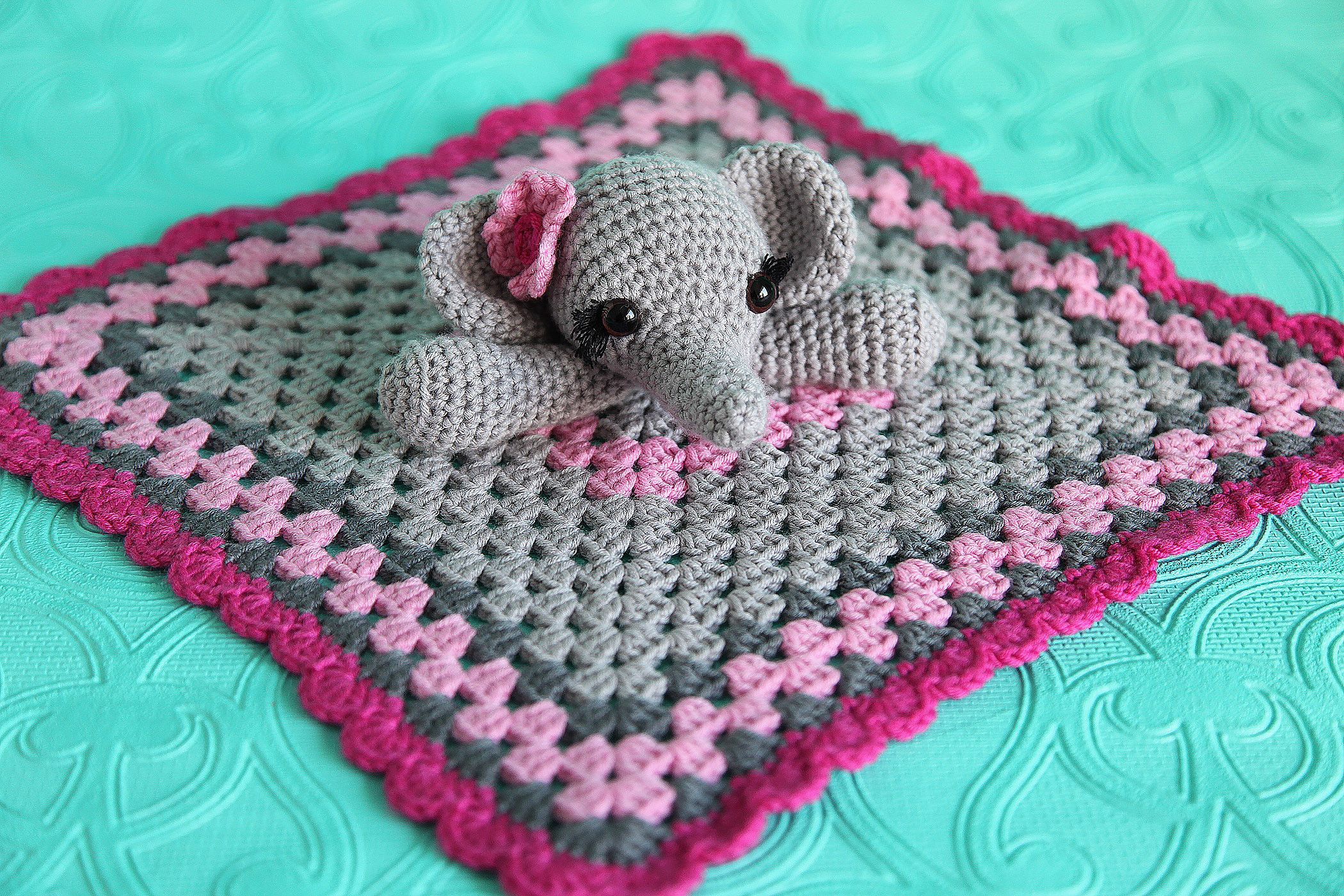 Crochet Elephant Blanket Unique Elephant Lovie Security Blanket toy Of Awesome 44 Ideas Crochet Elephant Blanket