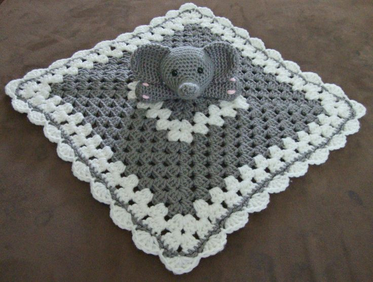 Crochet Elephant Blanket Unique Free Crochet Bunny Lovey Blanket Pattern Of Awesome 44 Ideas Crochet Elephant Blanket