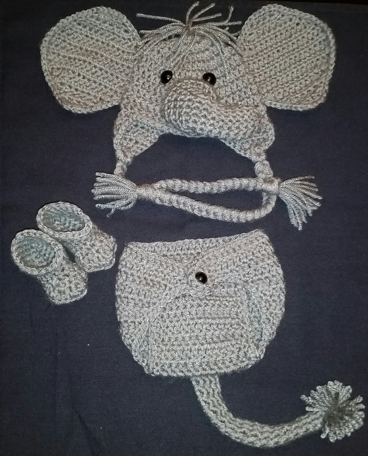 Crochet Elephant Elegant Crochet Newborn Elephant Outfit Baby Girl or Boy Safari Of Amazing 49 Models Crochet Elephant
