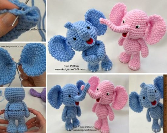 Crochet Elephant Elegant Elephant Crochet Lots Of Adorable Patterns Of Amazing 49 Models Crochet Elephant