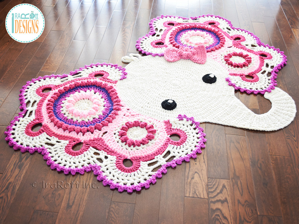 Crochet Elephant Fresh Josefina and Jeffery Elephant Rug Pdf Crochet Pattern Of Amazing 49 Models Crochet Elephant