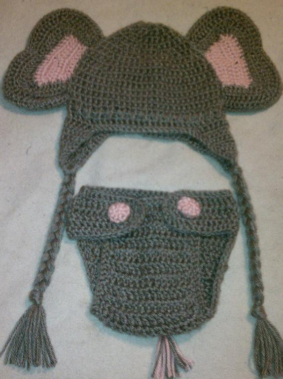 Crochet Elephant Hat Beautiful You Have to See Crochet Elephant Hat with Diaper Cover On Of Amazing 45 Photos Crochet Elephant Hat