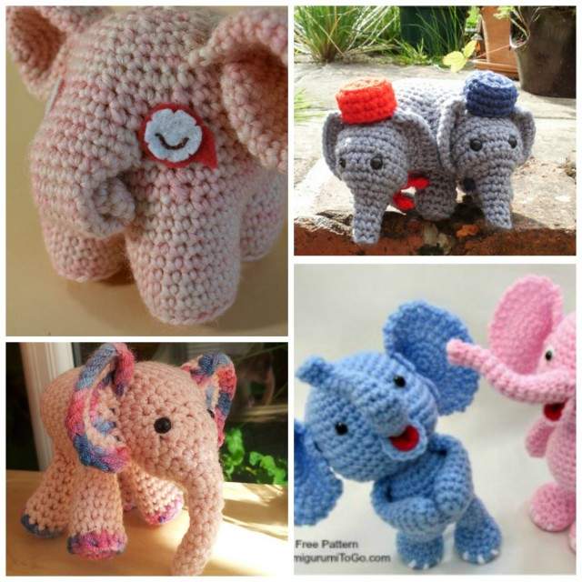 DIY Baby Elephant Crochet Tutorial