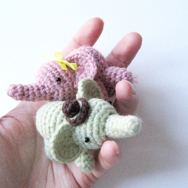 2000 Free Amigurumi Patterns Percy the Elephant
