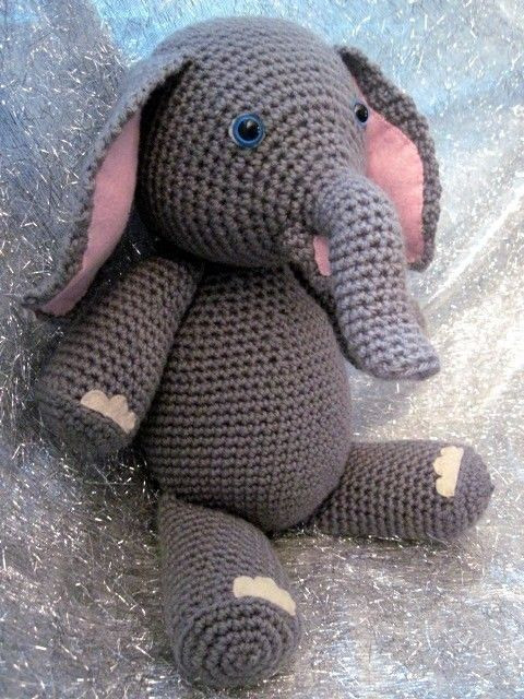 Crochet Elephant Lovely Elly the Elephant Crochet Amigurumi Pattern Of Amazing 49 Models Crochet Elephant