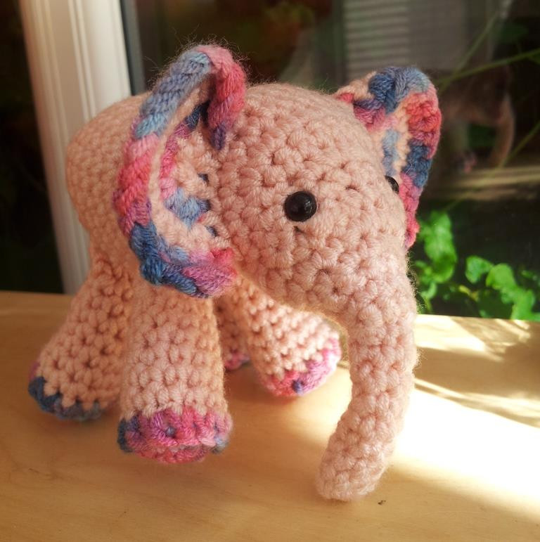Meimei Free Baby Elephant Crochet Pattern ⋆ Look At What