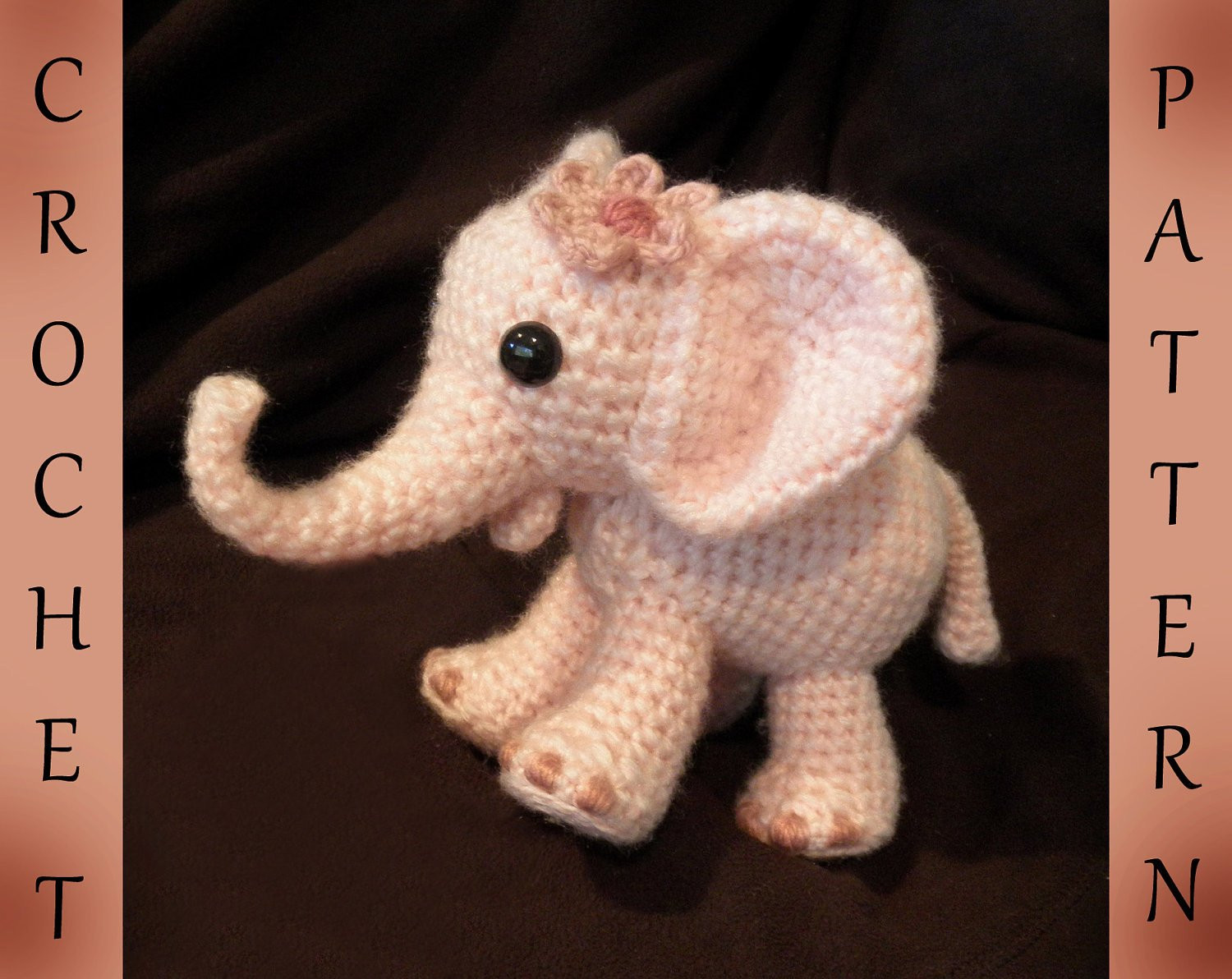 Ella the Elephant PDF Crochet Pattern