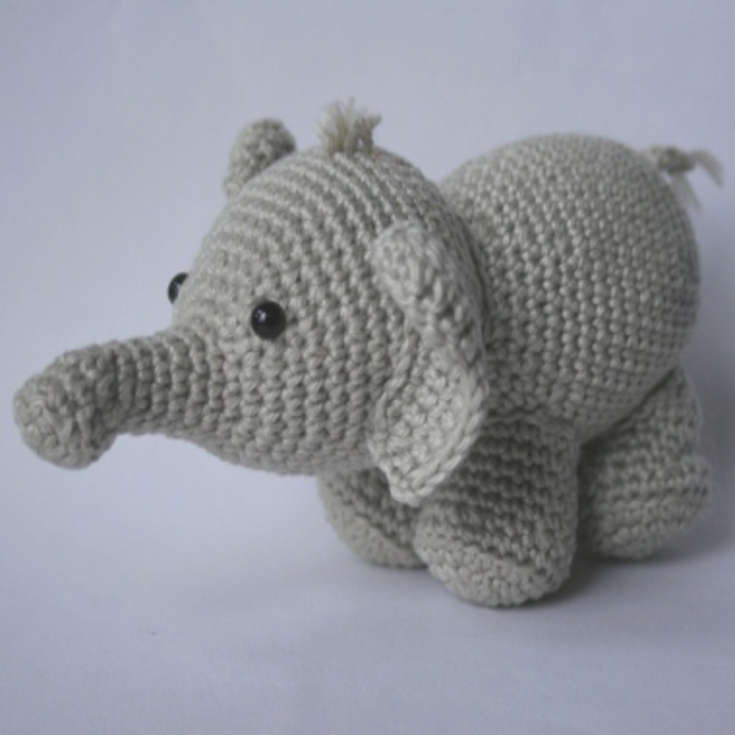 Crochet Elephant New Little Bigfoot Elephant • Wixxl Of Amazing 49 Models Crochet Elephant