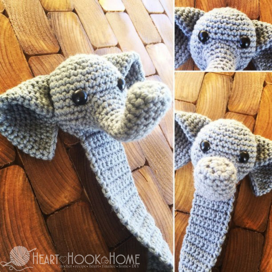 Crochet Elephant New Webster the Elephant Bookmark Amigurumi Crochet Pattern Of Amazing 49 Models Crochet Elephant