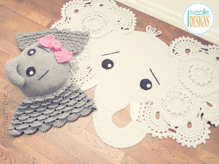 Crochet Elephant Pillow Awesome Josefina and Jeffery Elephant Rug and Pillow Crochet Of Brilliant 43 Images Crochet Elephant Pillow